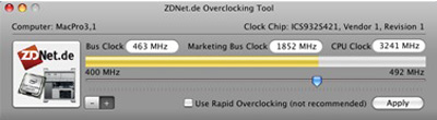 Clock de ZDnet