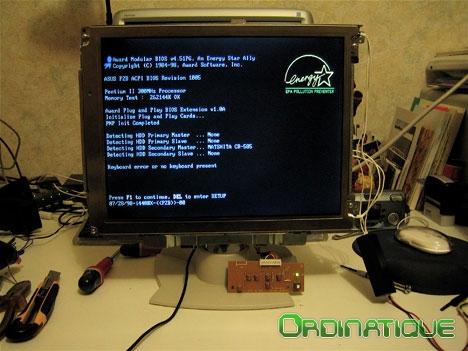 Réparer le rétro-éclairage d'un moniteur LCD