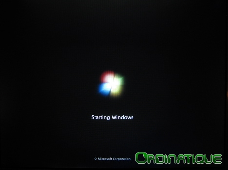Splash Screen Windows Seven