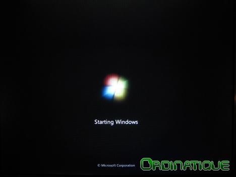 Splash Screen Windows Seven