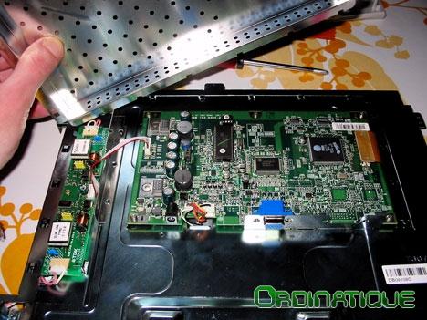Carte électronique d'affichage du moniteur LCD