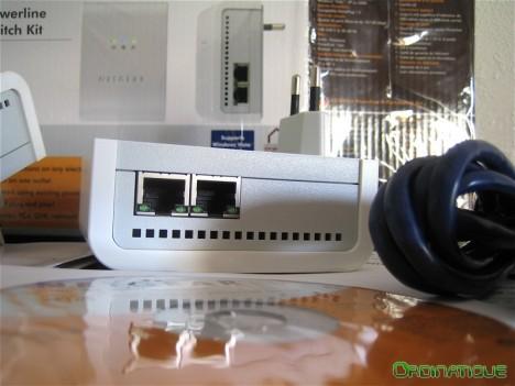 Netgear XEB1004 - Adaptateur CPL Ethernet switch 4 ports 85 Mbit/s