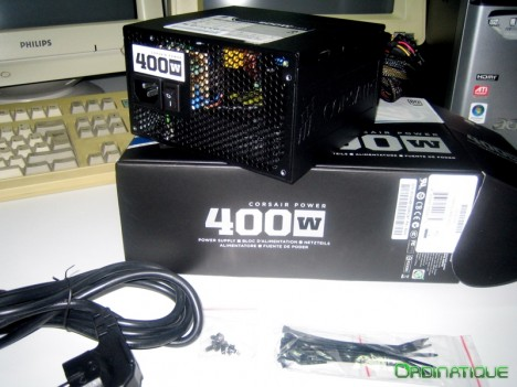 Alimentation Corsair 400W