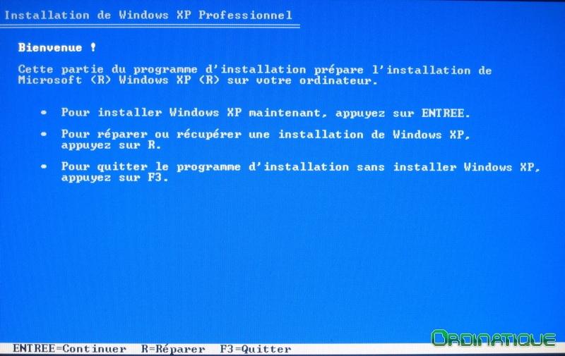 comment reparer ecran bleu