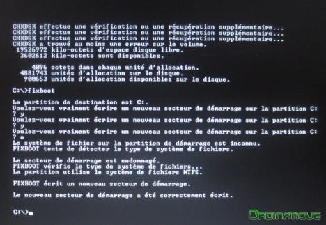 Fixboot Windows
